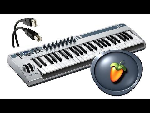 FL Studio: ¿Cómo conectar y configurar un piano/teclado o controlador USB?
