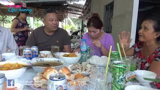 Cô chú Jacky Tran về thăm ba mẹ l Bữa cơm đạm bạc cùng gia đình