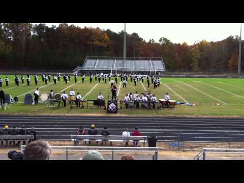 Brooke Point High School Marching Black Hawks -- October 2012