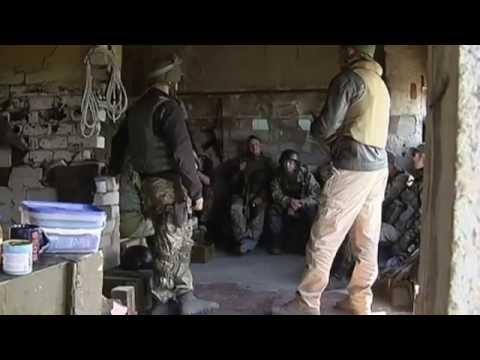 Defending Ukraine: Soldiers repel militant attacks near Donetsk Airport