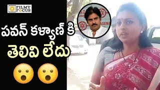 Actress Roja Sensational Comments on Pawan Kalyan on AP Special Status
