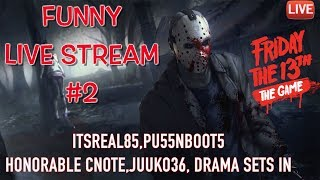 download lagu Live Stream: Funny Friday The 13th Livestream Part 2 gratis