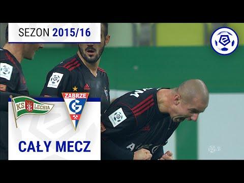 Lechia Gdańsk - Górnik Zabrze [1. Połowa] Sezon 2015/16 Kolejka 12