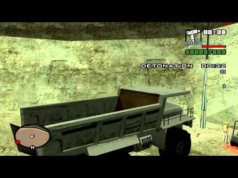GTA San Andreas Mods - Knight Rider Style: Explosive Situation
