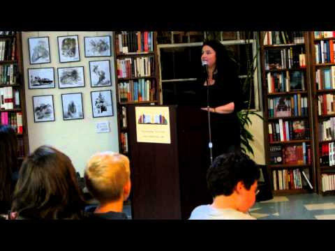 Dina Santorelli at Book Revue in Huntington, N.Y. (Long Island)