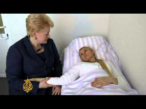 UK legal help for Ukraine ex-PM Tymoshenko