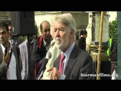 Paul Flynn MP - Naming the Dead Afghanistan 11 years on. Stop the war Coalition 07.10.12