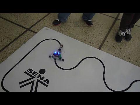 robot seguidor de linea velocista speedy 2