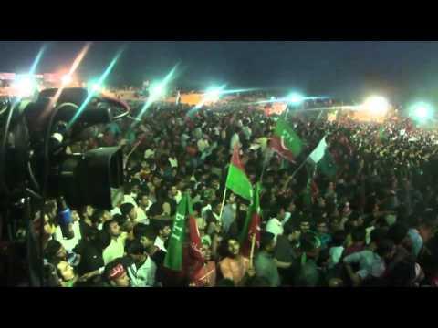 IMRAN Khan PTI Jalsa of Sialkot