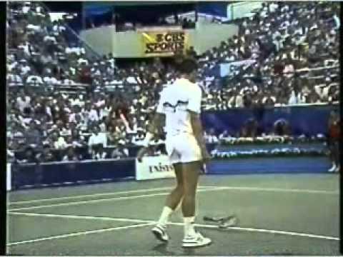 Mats ビランデル vs Ivan レンドル 全米オープン 1987