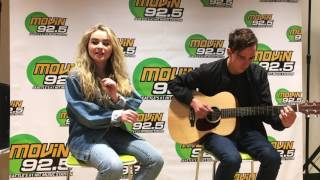"Sabrina Carpenter -- ""WHY"" (Acoustic) @ MOViN 92.5"