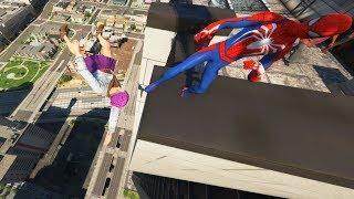 GTA 5 Epic Ragdolls/Spiderman Compilation vol.2 (GTA 5, Euphoria Physics, Fails, Funny Moments)