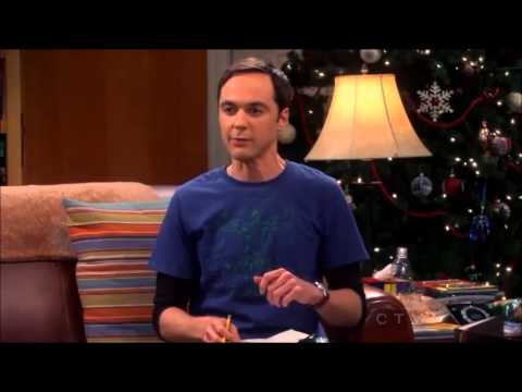 06x11 Sheldon singing christmas songs - The Big Bang Theory