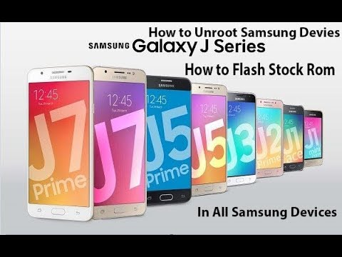 [Hindi]How To Flash Stock Rom in Samsung Galaxy Devices