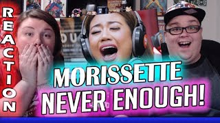 "Morissette performs ""Never Enough"" (The Greatest Showman OST) LIVE on Wish 107.5 Bus REACTION!! 🔥"