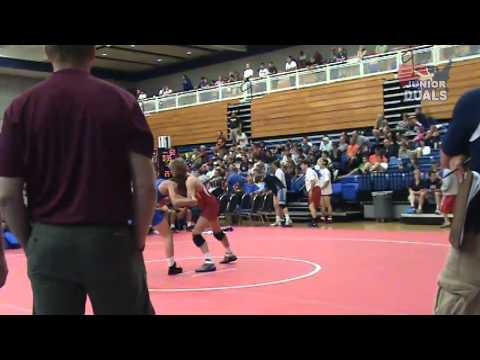 Junior GR 140 - Hayden Zillmer (MN) vs. Corey Ray (FL)