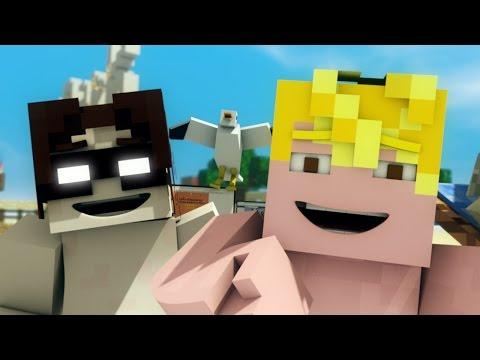 New Minecraft Music Parody (Teaser) - Minecraft Animation - FrediSaalAnimations