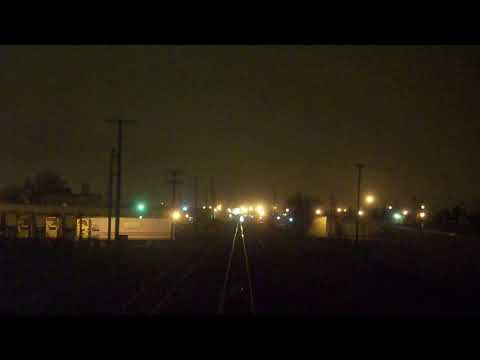 Amtrak Empire Builder Trip Fargo, ND-Moorhead, MN (Part 1/2)