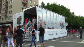 LG Road Show Cinema 3D TV