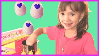 Pretend Cooking Hatchimals Eggs | Hatchimals Colleggtibles | Play Cooking Toys | Peanut's World