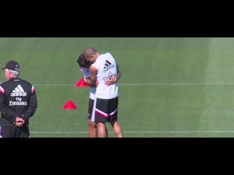 Los mimos de Pepe a Sami Khedira || Temporada 2014-15 || Real Madrid