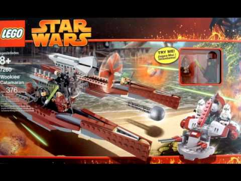 Lego Star Wars Sets of The