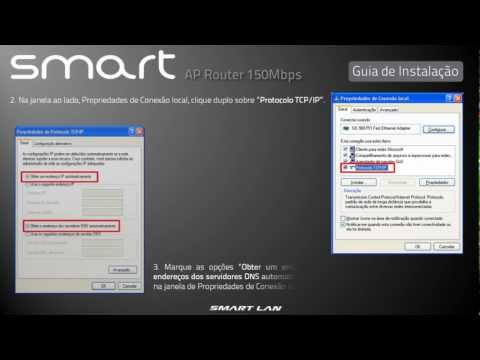 Smartlan Smart AP Router 150Mbps - Lançamento em Breve!!