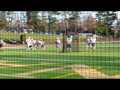 XAVERIAN HIGH SCHOOL AT IONA PREP LACROSSE HIT AND DEFENSE
