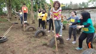 Outbound (lagi) di Podomoro Yuk