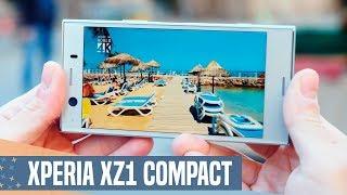 Sony Xperia XZ1 Compact review, pequeño pero MATÓN