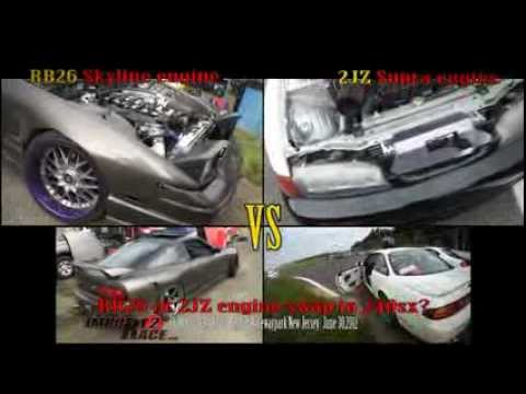 RB26 Skyline or 2JZ Supra engine swap in 240sx?