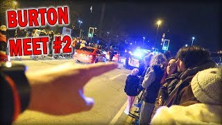 THE POLICE CRASHED THE CAR MEET!!