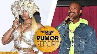 Nicki Minaj Praises BF Lewis Hamilton AND Shoots Her Shot at Michael B. Jordan