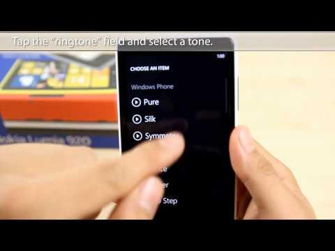 How to Change the Ringtone on Nokia Lumia 920