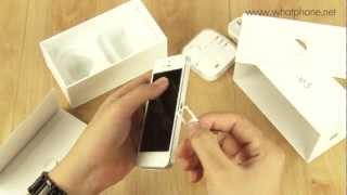 แกะกล่องรีวิว iPhone 5 by WhatPhone