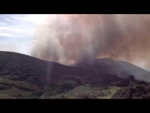 Incêndio no Cabo da Roca - 25 de Outubro de 2014 - 4