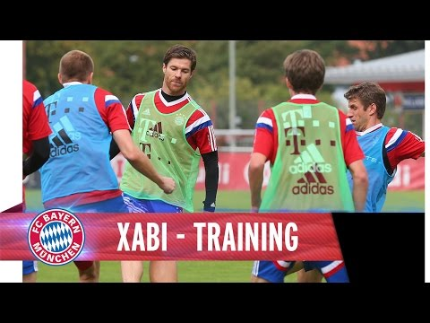 Xabi Alonso - Team Training Impressions