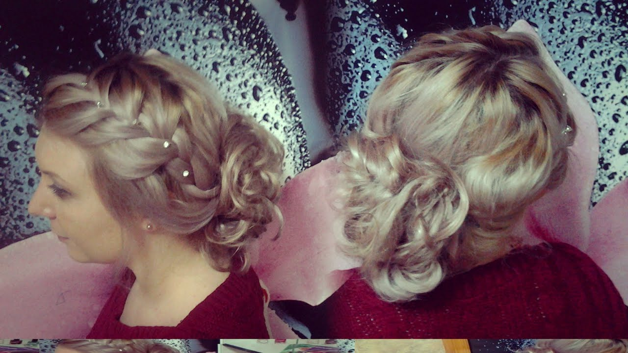 как делать свадебные прически 2011 видео