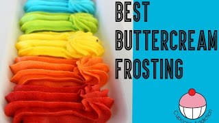 Buttercream FROSTING RECIPE - Perfect for Decorating Cakes & Cupcakes