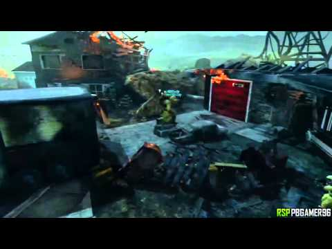 BO2 Solo Nuketown Zombies Roof Glitch AFTER PATCH (Black Ops 2 Zombie PS3 Xbox 360)