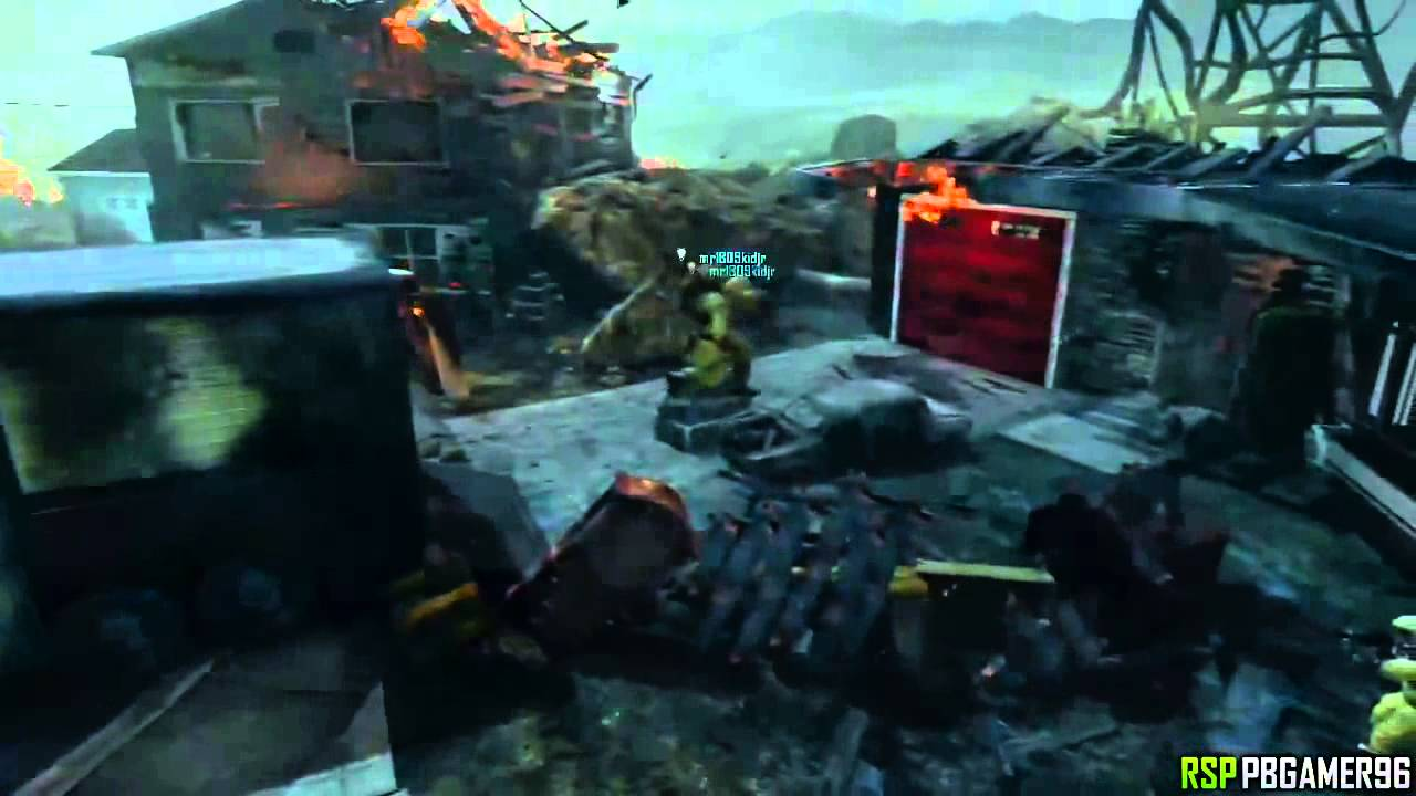 BO2 Solo Nuketown Zombies Roof Glitch AFTER PATCH Black Ops 2 Zombie PS3 Xbox 360 YouTube