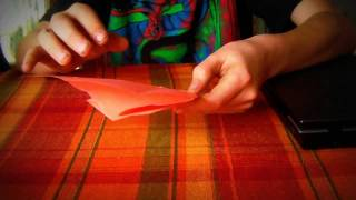 How To Make A Origami Heart With Arrow