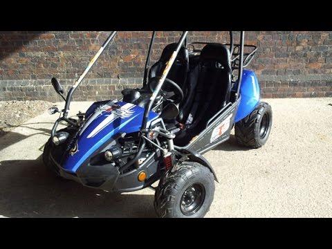 Hammerhead GTS 150 Go-Kart - YouTube