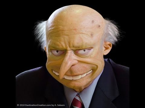Reality Simpsons: If Mr. Burns were Real