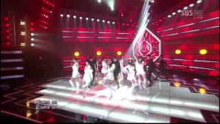 [Live] Intro + News - Nine Muses [Mix 9 Stage]