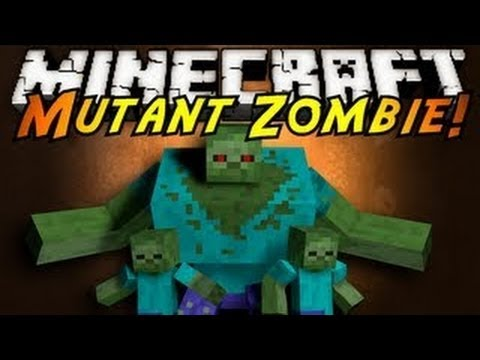 Minecraft Mod Showcase : Mutant Zombie!