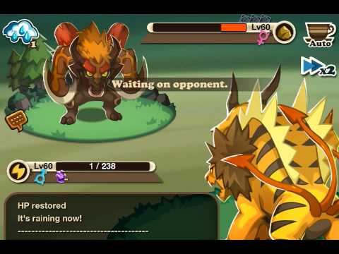Haypi monsters- orange egg legend battle #1