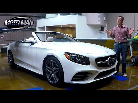 2018 Mercedes Benz S560 Convertible FIRST DRIVE REVIEW