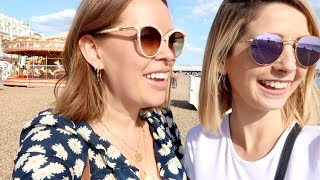 Beach Fun & Sleepover With Zoe & Alfie | Tanya Burr