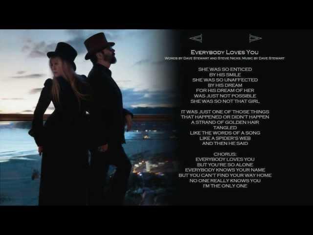 Everybody Loves You - w lyrics  STEVIE NICKS